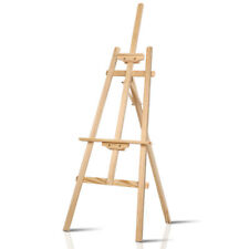 Artiss Easel Stand Painting Easels Wedding Wooden Tripod Stand Display 147cm