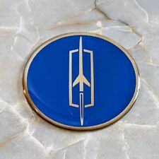Blue Oldsmobile Wire Wheel Chips Emblems Decals Set Of 4 Size 225in