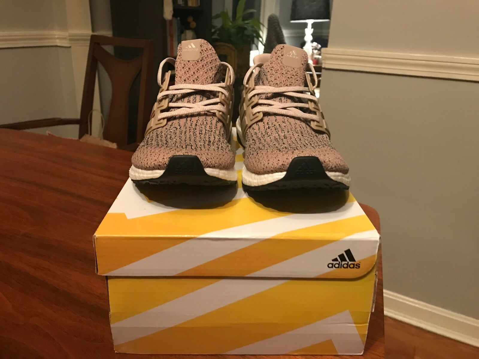 Adidas Ultra Boost 3.0 Trace Khaki Sneakers Size 9.5 US Mens
