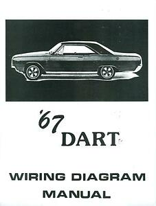 1967 dodge dart wiring diagram manual ebay 1965 Pontiac Wiring-Diagram at 1967 Dodge Wiring Diagram