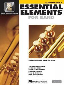 Éléments Essentiels Pour Bande Livre 1 Avec Eei Bb Trompette Band Book Media 000862575-afficher Le Titre D'origine