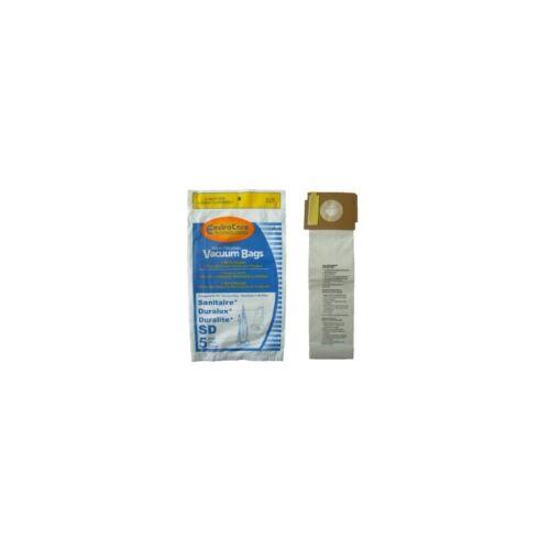 Electrolux Eureka 5 Sanitaire Sd Micro with Closure Vacuum Bags Duralux Vacuu