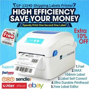 Free-500-label-QR-code-Barcode-Tag-Thermal-Label-Printer-High-Speed-address