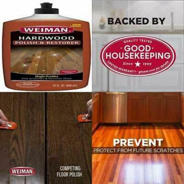 Hardwood Floor Cleaner Weiman Polish Restorer Removes Scratches