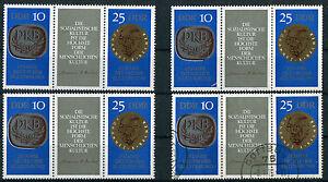 DDR-1592-1593-ZD-tres-primero-neumaticos-3-X-frescos-postal-con-sello-cottbus-mie-46