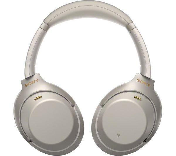 Nouveau Sony WH-1000XM3 sans fil anti-bruit sur l'oreille casque Silver FR*2