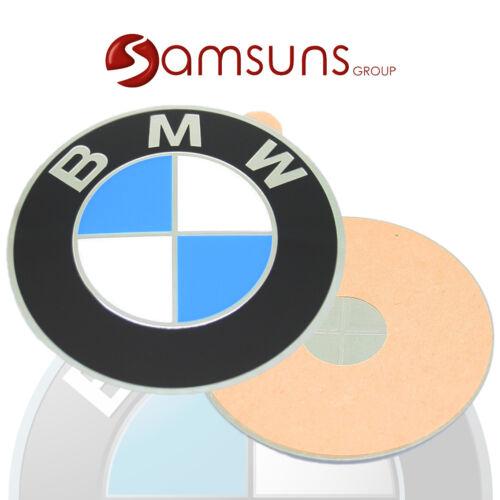 4x Original BMW Logo Emblème 70mm Plaque Chapeaux de Moyeux Étiquette