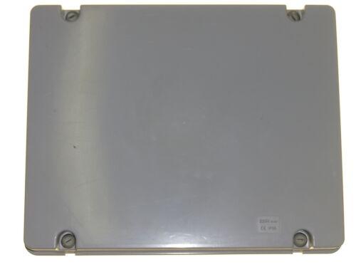 GRANDE scatola di derivazione 380mm Pannello divisorio adattabile resistente alle intemperie IP56 PIASTRA IN ACCIAIO