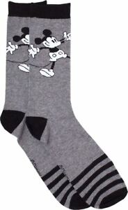 Officially-Licensed-Disney-Mickey-Mouse-EU-43-46-UK-9-11-Wide-Arms-Crew-Socks