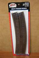 Atlas Ho Scale Code 83 24 Radius Curve Track Nickel Silver Rail (6 Pcs./pack)