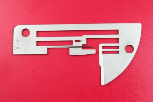 Pro 5DE Elna Stichplatte A für Overlock Nadelplatte Elna Pro 5DC