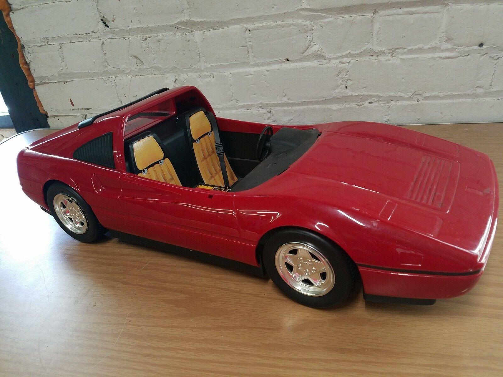 el estilo clásico Vintage 1986 Mattel Ferrari 22  Plástico Auto como como como se lee  muy popular