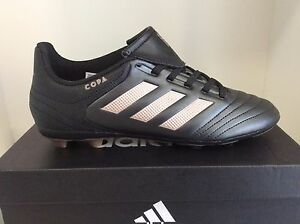 a3a539931 Adidas Copa 17.4 FxG J Firm Ground Soccer Cleats Black Youth Sizes ...