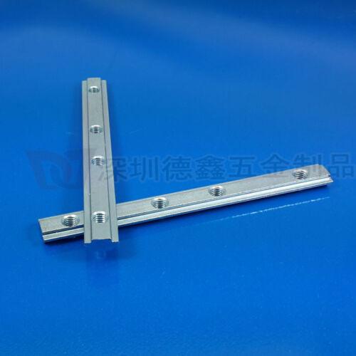 2020,30 T-Slot Aluminium Extrusion Profile #QJ1 ZX 2X Straight inside connector