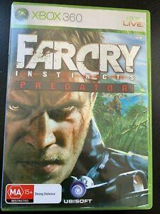 Far Cry Instincts Predator Xbox 360 Xbox One Original Aus Pal Vgc Complete Ebay