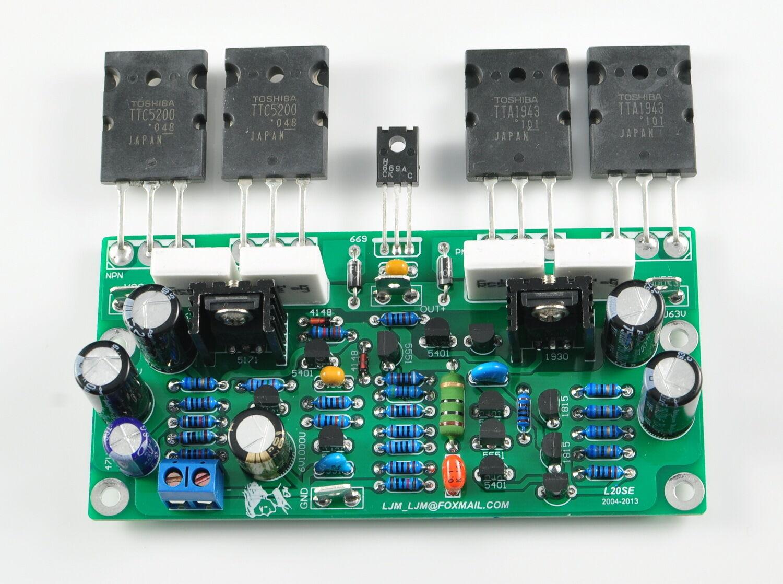 Ljm Diy Kit For L20se Amplifier Parts W   Dual Ac Power 350w 350w 2sa1943 2sc5200