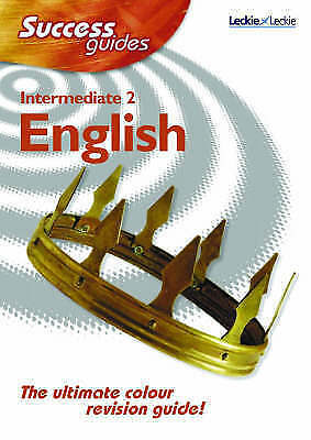 1 of 1 - Leckie - SUCCESS GUIDE INTERMEDIATE ENGLISH2, Larry Flanagan, New Book