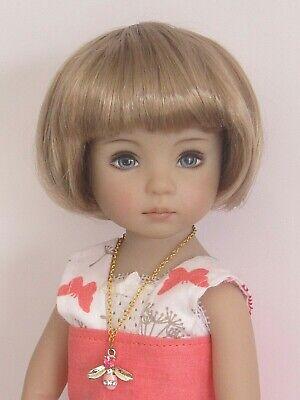"""18//19cm -PALE BLONDE Doll wig for Little Darling doll 13/"""" Dianna Effner-7//8/"""""""