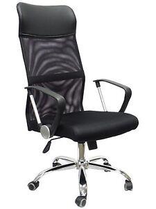 Ergonomic Mesh High Back Executive Computer Desk Task Office Chair Black HC-8003
