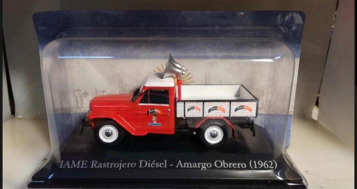 1 43 IAME Rastrojero Diesel Autos de Servicio argentoina Diecast w magazine