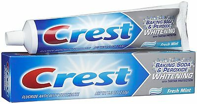 Crest Baking Soda & Peroxide Whitening Toothpaste Mint 8.2 oz 300 Pack