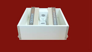 Soft Close Runners Bedroom Drawer Boxes 550mm D x 200mm H Range