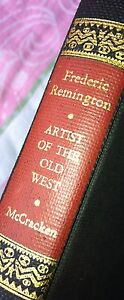 Frederic-Remington-First-Edition-Book-by-Harold-McCracker-1947