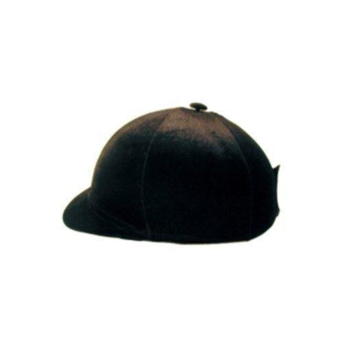 Fits Most Helmets Velvet Helmet Cover Black w//Bow