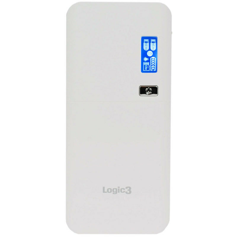 Logic3 LG299 Portable Dual USB Power Bank Charger 14,000 mAh Dual USB