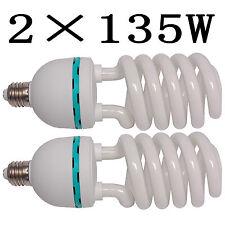 CL135x2 2 un. 135W Bombillas Lámpara de fotografía Photostudio Luces Continuo E27