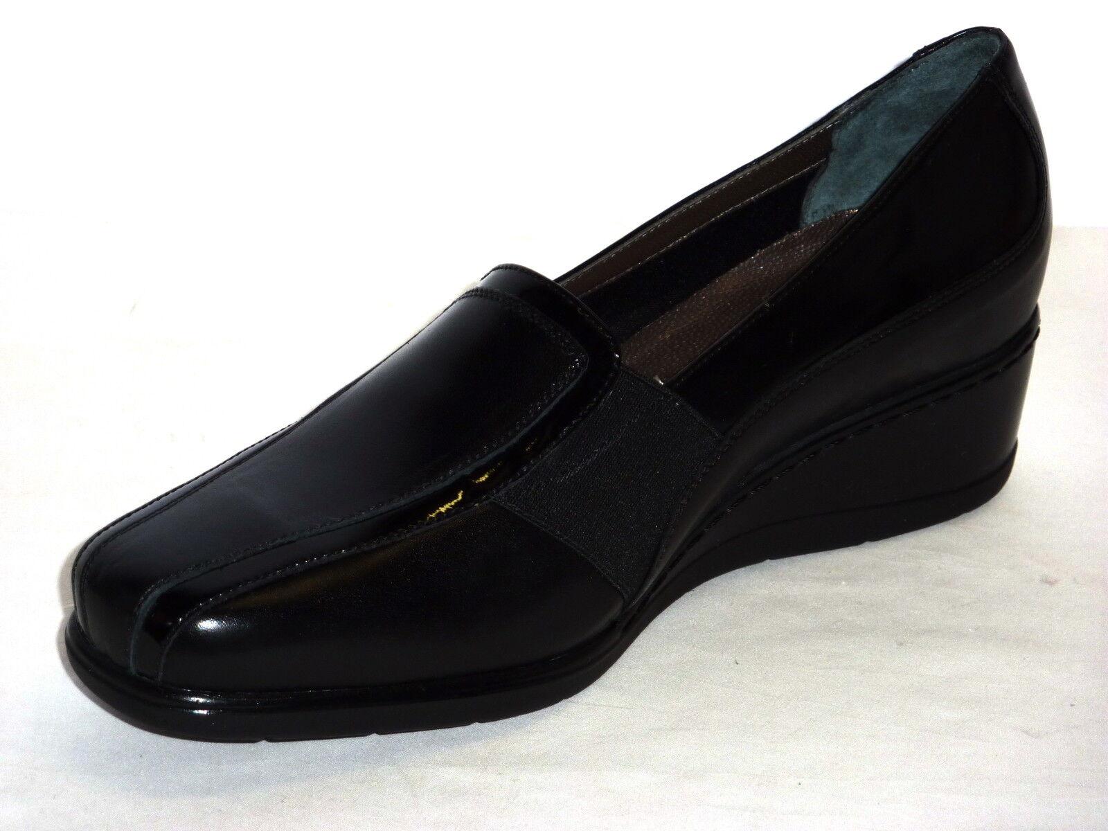 Schuhe CONFORT Damens ELEGANTI CALDO INVERNO MORBIDISSIME MORBIDISSIME MORBIDISSIME IN  PELLE  NERO n. 39 2fff22