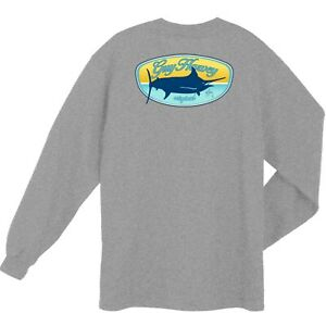 50/% Off Guy Harvey Women/'s Marlin Go Over LS Tee Shirt--Pick Color-Free Shipping