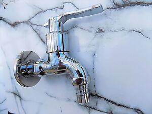 Wandarmatur Kaltwasser Einloch Armatur Wandanschluss Wasserhahn ...