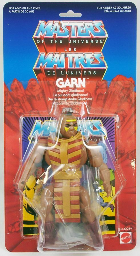Masters of the Universe - Garn  version mini-comic  (carte Europe) - Barbarossa