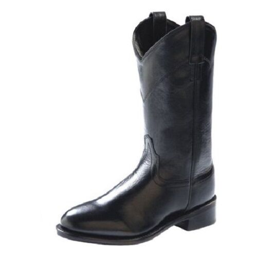 Cowgirl Boots OLD WEST Ladies Black Roper Boots, style #SRL4010