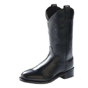 ded06cd7fa0 Details about Cowgirl Boots OLD WEST Ladies Black Roper Boots, style  #SRL4010