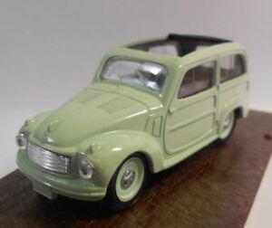 Brumm-1-43-scale-metal-model-r28-FIAT-500c-Belvedere-hp16-5-sporta-1951-55