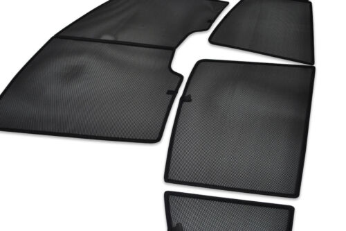 UV CAR SHADES WINDOW SUN BLINDS PRIVACY GLASS TINT BLACK Toyota Avensis 4dr 09