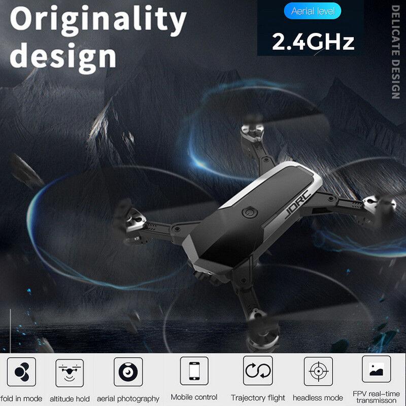 JDRC WiFi FPV RC Quadcopter Foldable Remote Control Follow  Me Drone 720P 4CH  garanzia di credito