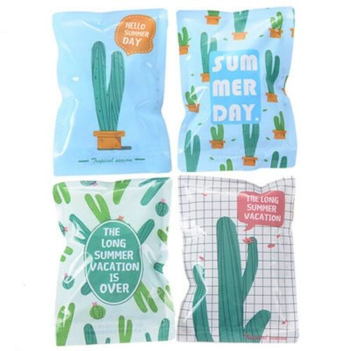 Unicorn Ice Bags Pack Cactus Ananas Outdoor Nourriture Keep Cool fièvre Reuse Summer