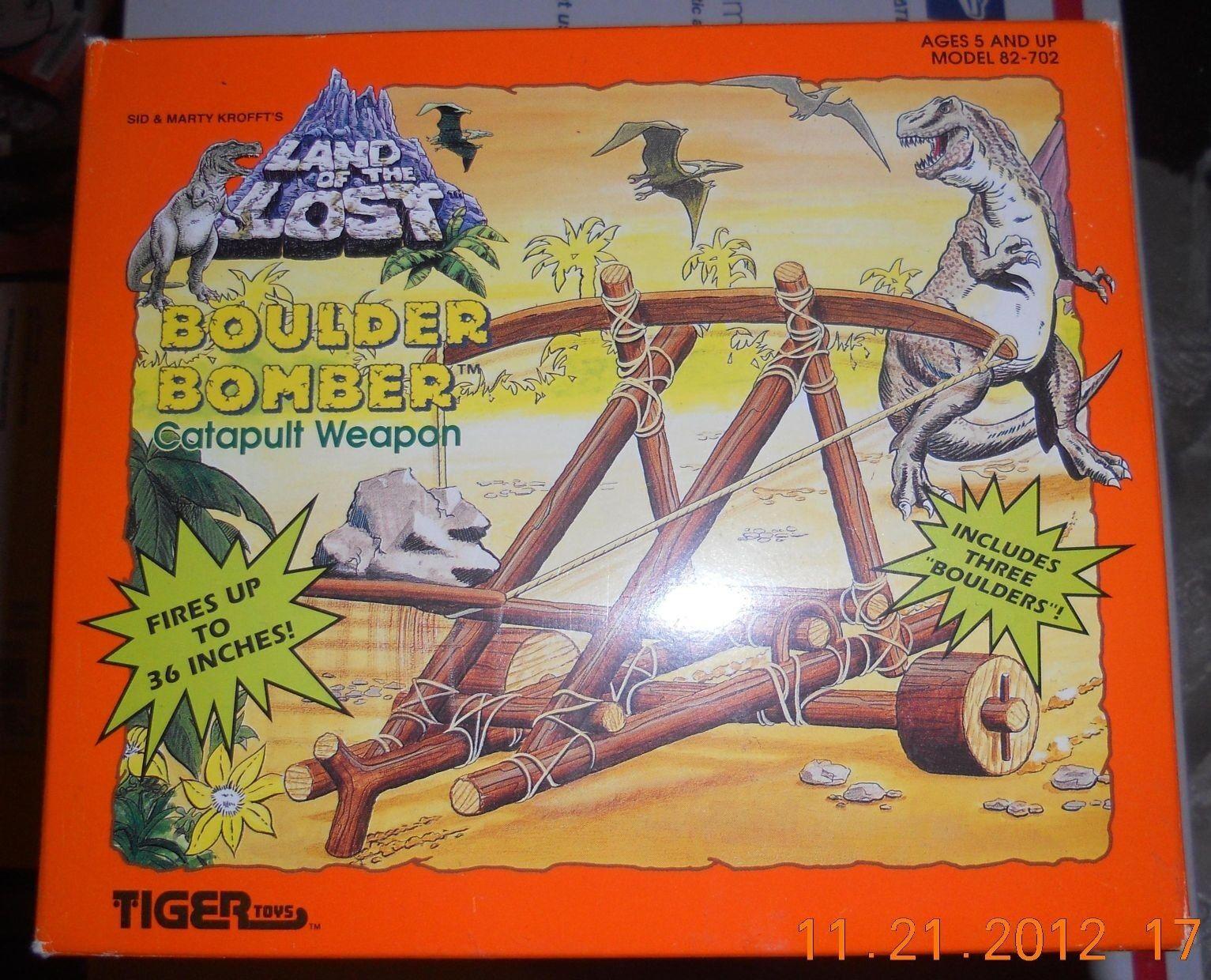 1992 Tiger Toys Sid & Marty Krofft Land of the Lost Boulder Bomber VHTF NRFP