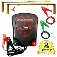 Electric Fence 12v Battery Energiser Shockrite Srb60 0.6j 3 Year Warranty Horse