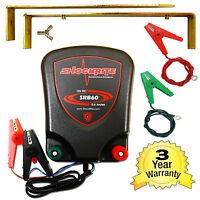 Electric Fence 12v Battery Energiser Shockrite Srb60 0.6j 3 Year Warranty Horse