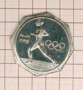 Pavoo-Nurmi-Finland-Olympic-Movement-Medal-Uniface-Octagonal