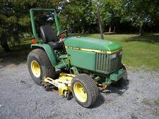 John Deere 770 Diesel Compact Tractor With 60 Mower