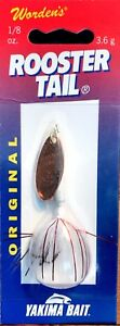 Vintage-Worden-039-s-Rooster-Tail-Lure-208-CTGWH