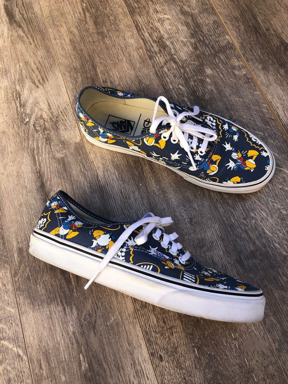 Childrens Disney Donald Duck Character Pumps Trainers Child Shoe Sizes 10 to 2.5