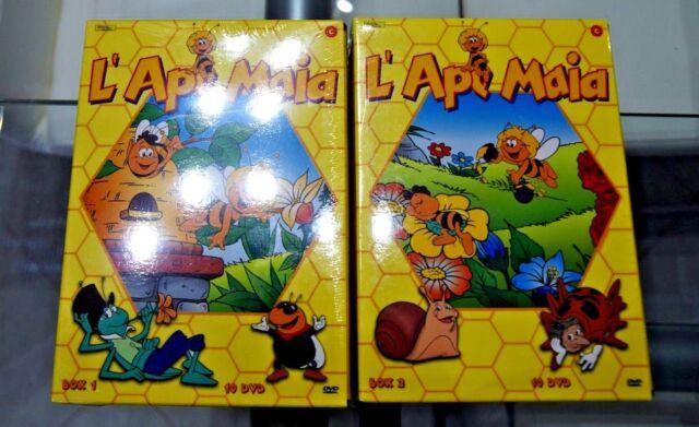 L'ape MaiaVolume01-20DVD Episodi01-104 (2 BOX SET) RARISSIMO