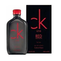 Calvin Klein One Red Edition 3.4oz Mens EDT Cologne Spray