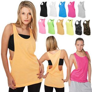 URBAN-Classics-Donna-LOOSE-Canottiera-T-shirt-Top-Shirt-Ladies-5-Colori-XS-XL
